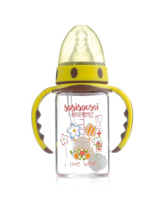 芭芘宝贝玻璃奶瓶