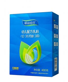 畅益组合 3段配方乳粉400g盒装