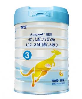 珀淳3段900g婴儿配方奶粉