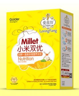 小米双优米粉盒装-胡萝卜蛋黄多维