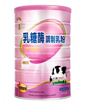乳糖酶调制乳粉