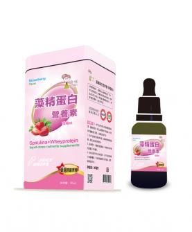 藻精蛋白营养素草莓味