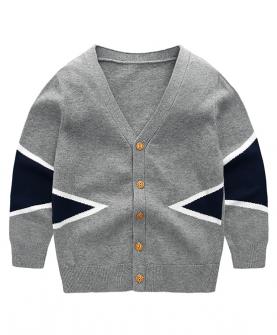 2019春装新款男童毛衣外套