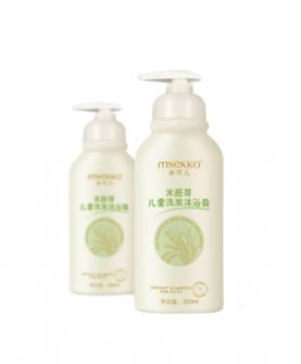 米胚芽儿童洗发沐浴露