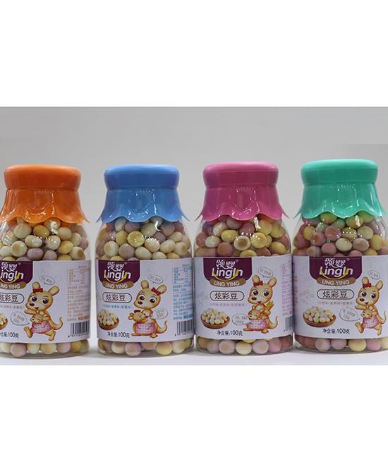 领婴冰糖炫彩豆