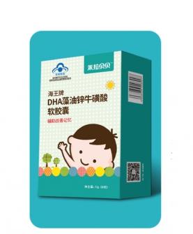 DHA藻油锌牛磺酸软胶蘘