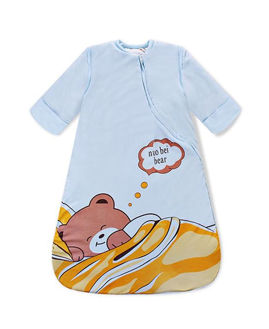 诺贝熊婴儿睡袋棉质儿童