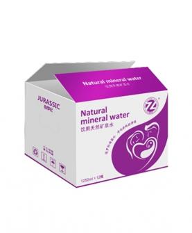天然矿泉水1250ml包装