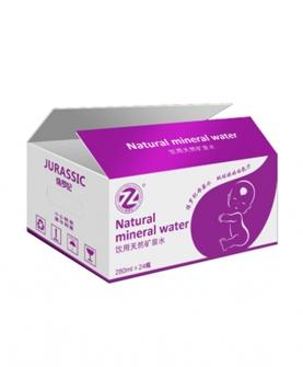 天然矿泉水280ml包装箱