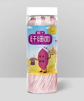焖汁纤细面紫薯口味