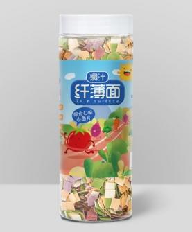 焖汁纤薄面综合口味小面片