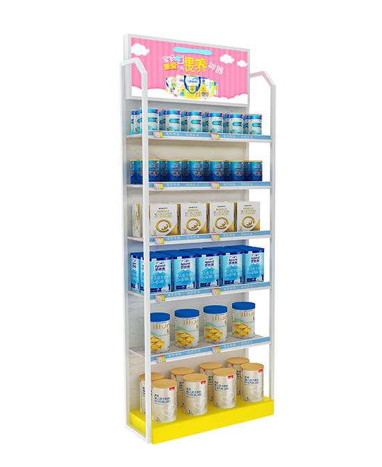 展正奶粉柜