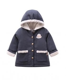 儿童加厚连帽外套