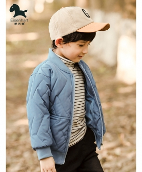男童棉衣秋冬装外套新