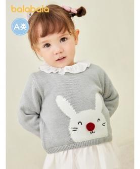 婴儿毛衣女童