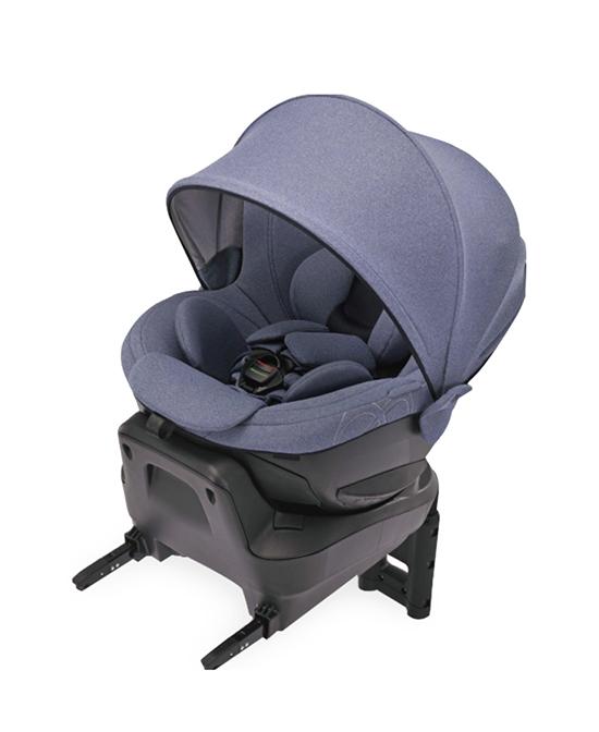 艾乐贝贝可躺360度旋转遮阳棚ISOFIX汽车安全座椅