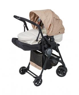 新生儿可坐可躺轻便可折叠避震双模式儿童婴儿推车