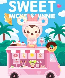迪士尼米奇米妮甜点系列盲盒潮玩公仔