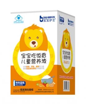 宝宝吃饭香儿童营养饮液