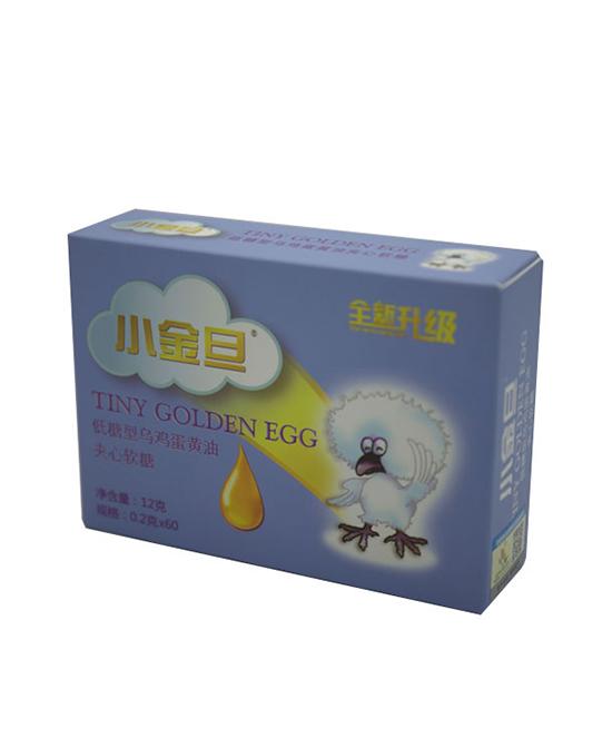 小金旦营养品低糖型乌鸡蛋黄油夹心软糖代理,样品编号:91165
