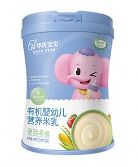 有机婴幼儿营养米乳果蔬多维