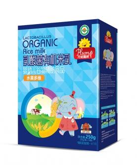 乳酸菌有机米乳-水果多维