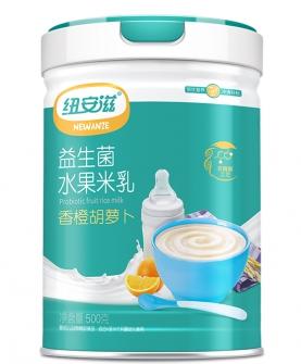 益生菌水果米乳(香橙胡萝卜)