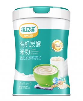 有机发酵米粉(强化铁锌钙麦加)