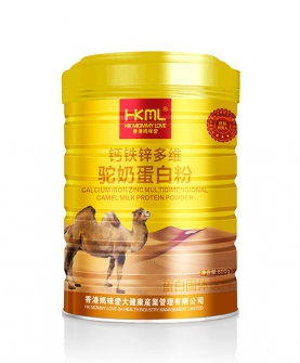 钙铁锌多维驼奶蛋白粉