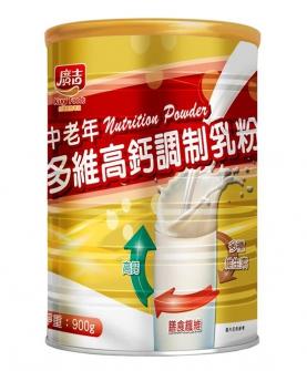 广吉中老年多维高钙调制乳粉