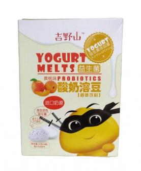 益生菌酸奶溶豆黄桃味