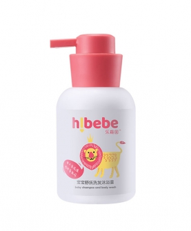 宝宝舒抚洗发沐浴露