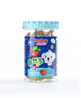 果然多钙黄桃草莓水果软糖