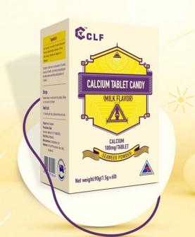钙(牛奶味)压片糖果