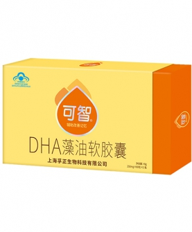 (蓝帽)可智DHA藻油软胶囊
