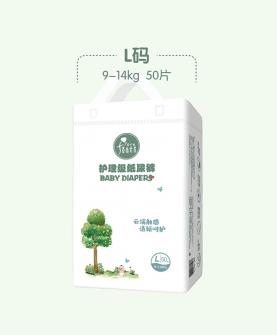 自然棉柔护理级纸尿裤L50