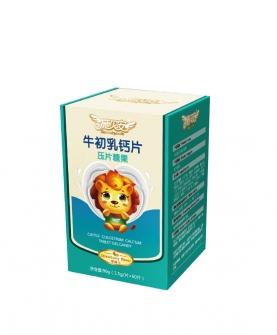 牛初乳钙片压片糖果