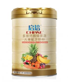 多维钙铁锌果蔬儿童配方奶粉