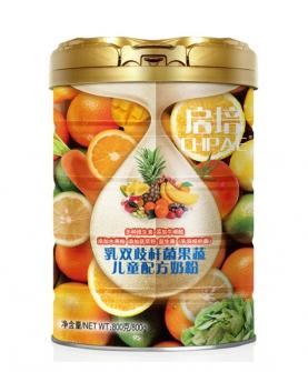乳双歧杆菌果蔬儿童配方奶粉