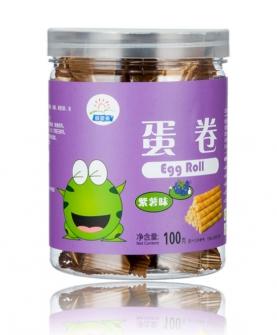 蛋卷 紫薯味