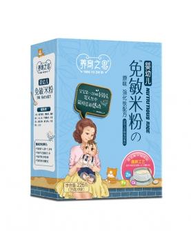 婴幼儿免敏米粉原味强化铁配方