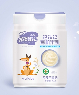 钙铁锌有机米乳