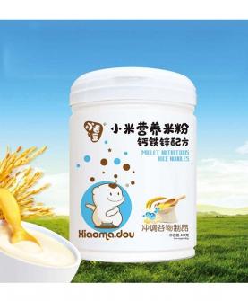 小米营养米粉钙铁锌配方