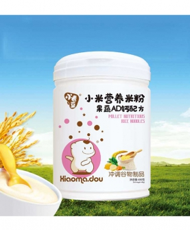 小米营养米粉果蔬AD钙配方