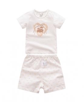 2020新款婴儿短袖套装