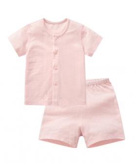 新款婴儿童短袖套装