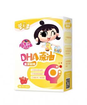 DHA藻油果汁软糖