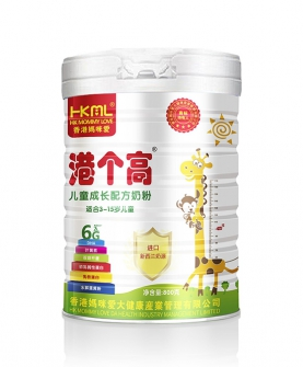 香港妈咪爱儿童成长奶粉