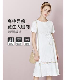 孕妇夏装连衣裙