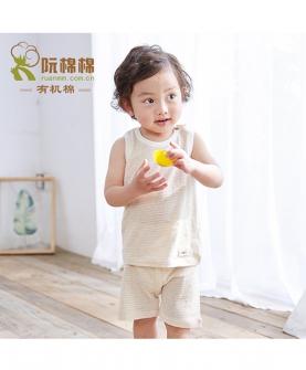 婴儿背心短裤两件套